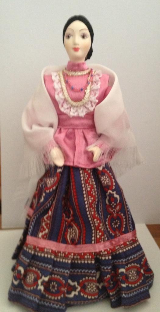 Как сшить куклу своими руками казака и казачку 67